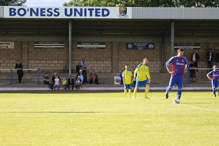 Linlithgow Thistle played Bo'ness United at Newtown in a pre-season friendly - now they're set to move there on a permanent basis.