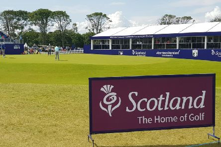 Day two of the Scottish Open.