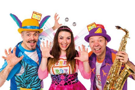 The Funbox gang are coming to Linlithgow.