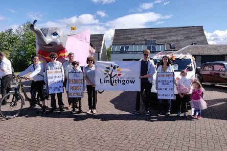A previous Transition Linlithgow event. For more details about the group's active travel festival on Saturday, August 31, call 01506 844182 or email contact@transitionlinlithgow.org.uk