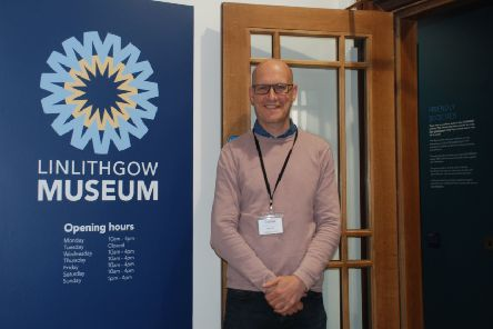 Linlithgow Museum project manager Stephen Balfour hopes people will attend both the Linlithgow Museum events next weekend.