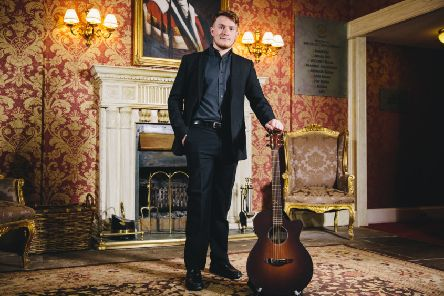 Bo'ness singer songwriter Ross Arthur has released his debut EP 'These Transitions'. Photo credit: Andrew Perry