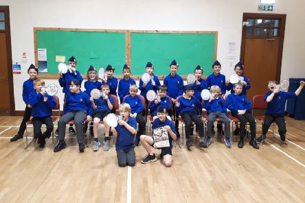 2nd Linlithgow Boys' Brigade took part in the UK's biggest road safety event, Road Safety Week.