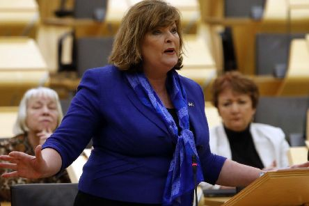 Fiona Hyslop MSP, Minister for Culture and External Affairs . Pic - Andrew Cowan/Scottish Parliament