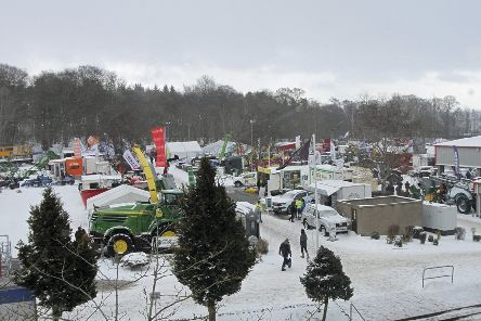 Snowy weather curtailed the attendance at last year's spring show but the trade stands still attracted plenty of visitors