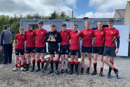 Mackie were top dogs In their own U15 sevens