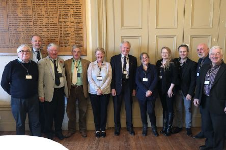 The heritage and arts initiative was launch at a business breakfast at Lathallan School