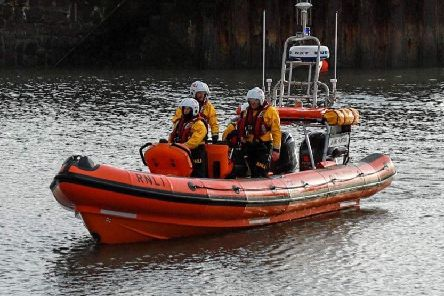 The Stonehaven station took delivery of a new vessel last year. Picture: RNLI
