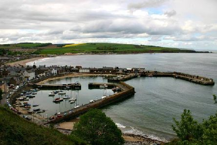 Stonehaven is the largest recreational harbour in Aberdeenshire