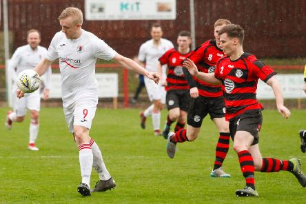 Bonnyrigg Rose in action against East Stirlingshire (archive)