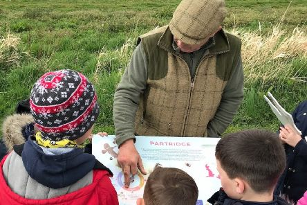 Whitburgh Farms hosted a farm visit organised by the Game & Wildlife Conservation Trust (GWCT) on Wednesday 8 May forTynewater Primary School.