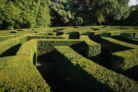 These impressive mazes provide the perfect challenge