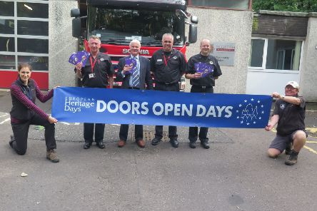 Dalkeith Fire Station is taking part in this year's Doors Open Day in Midlothian.