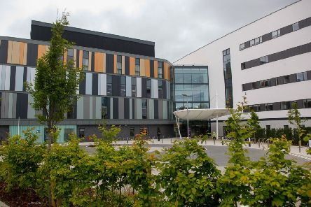 The new Royal Hospital for Children and Young People. Pic; Scott Louden
