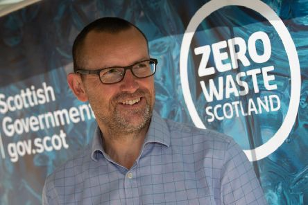 Iain Gulland, chief executive of Zero Waste Scotland (Photo: Mark F Gibson)