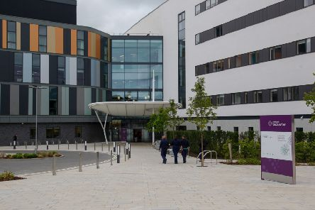 The new Royal Hospital for Children and Young People