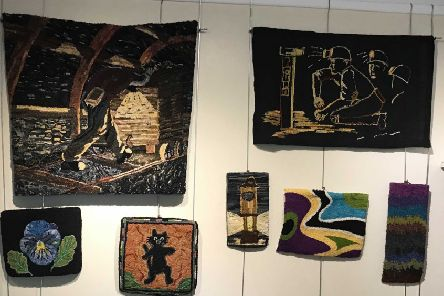 Penicuik Arts Centre is currently hosting an exhibition by rug-maker Chris Steele.