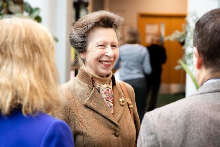 The Princess Royal visited Moredun at Pentlands Science Park.