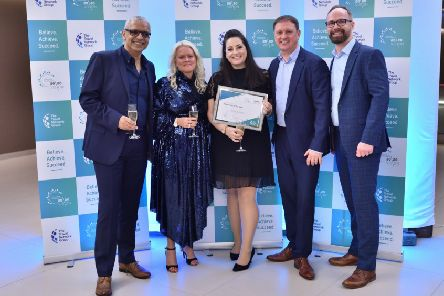 Local independent travel agent Nicola Johnson picked up the prestigious 'Newcomer of the Year 2019 Award', from Independent Travel Experts (ITE).