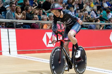 John Archibald booked his place in the team for Poland with a world record in last month's British Championships (pic courtesy of SWpix.com)