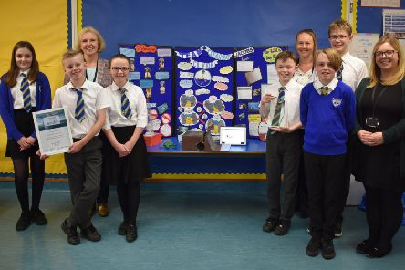 Winning Bearsden pupils have designs on plastic pollution