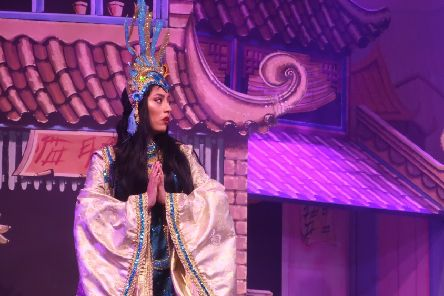 Storm-Skyler McClure returns to Motherwell Theatre to play Princess Jasmine in Aladdin