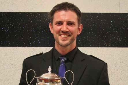 Dalziel Rugby Club head coach Graham Calder