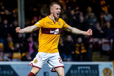 David Turnbull was Motherwell's matchwinner against Hearts (Pic by Ian McFadyen)