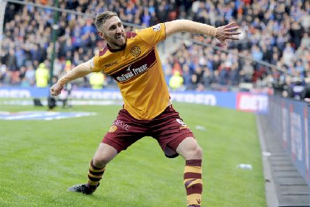 Louis Moult scored 50 goals for Motherwell between 2015 and 2018