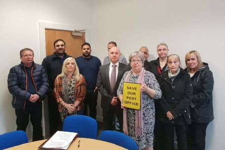 Motherwell and Wishaw MP Marion Fellows met with local sub-Postmasters to discuss remuneration