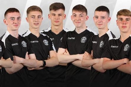 Motherwell FC academys magnificent seven who have made the step up to the professional ranks (Pic courtesy of Motherwell FC)