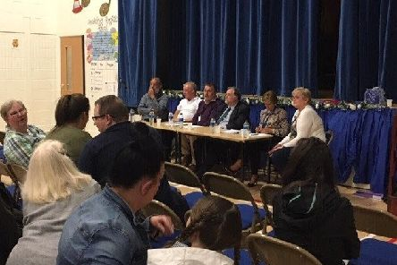Bothwell residents left the top table in no doubt they do not approve of the proposed site for the new nursery