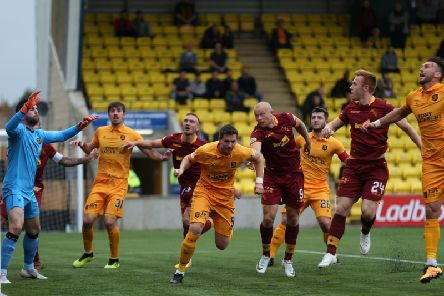 Motherwell's last league trip to Livingston resulted in a 2-0 defeat on December 1 last year (Pic by Ian McFadyen)
