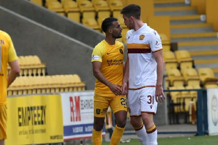 Motherwell's Declan Gallagher will be a key man again at Livingston this afternoon (Pic by Ian McFadyen)