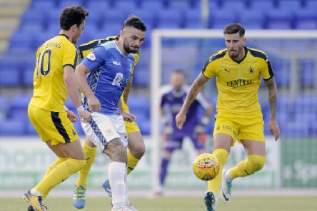 Tony Watt in action for St Johnstone in 2018 (Pic by Michael Gillen)