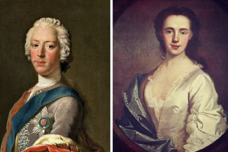 Charles Edward Stuart and Jacobite supporter Lady Anne Mackintosh, who ordered the Rout of Moy. PICS: Creative Commons.