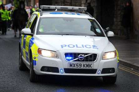 Police Scotland mistakenly filled patrol cars with the wrong type of fuel 16 times last year. Picture: TSPL