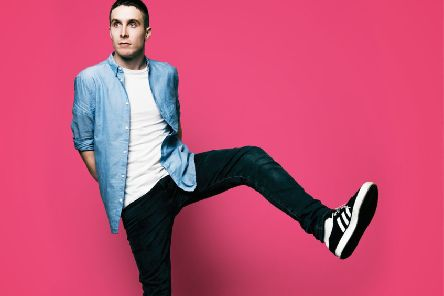 Glasgow comic Larry Dean is in the running to be named the best act at this year's Fringe