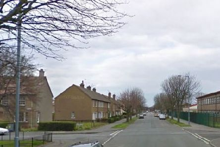 The attack too place on Central Avenue in Grangemouth. Picture: Google Maps