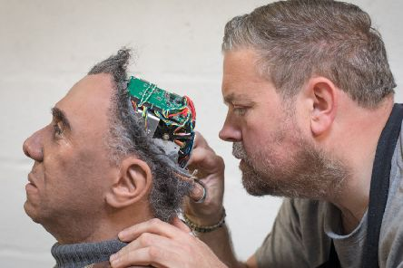Most 'robots' are not actually made to look quite so human as Fred, a Mesmer robot (Picture: Matt Cardy/Getty)