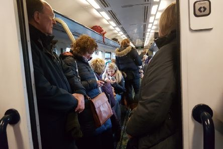 Despite overcrowding and high fares, the EU seems to like the UK model of rail privatisation (Picture Kieran Murray)