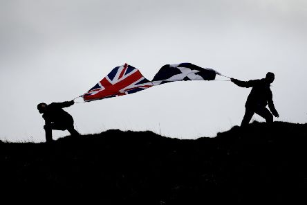 Scotland remains divided on the issue of independence. Picture: Phil Wilkinson/TSPL
