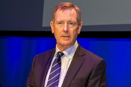 Rngers chairman Dave King at the club's AGM. Picture: Alan Harvey/SNS