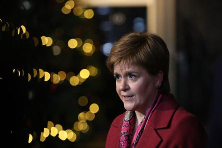 In her New Year's message, the First Minister said Scotland's reputation for being a hospitable country 'has never been more important'. Picture: Jonathan Brady