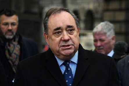 Former First Minister of Scotland Alex Salmond. Picture: Andy Buchanan/AFP/Getty Images