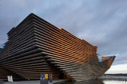 More than 380,000 people have visited V&A Dundee since it opened in September.