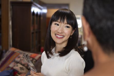 Tidying up with Marie Kondo.