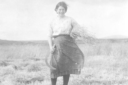 A Uist croftswoman in 1931 by Margaret Fay Shaw. PIC: Canna House/NTS.