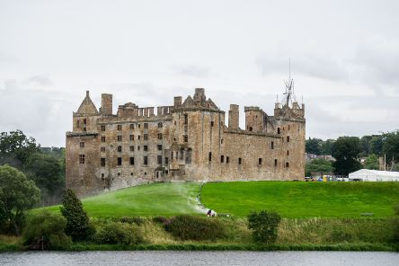 Linlithgow Palace was used as a filming location for Outlaw King and Mary Queen of Scots and can be visited as part of the package. Picture: John Devlin.