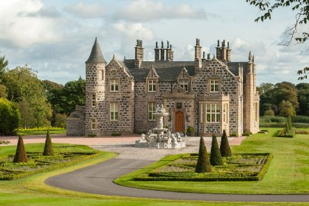 Menie House, a B-listed property, is a thorn in the side of Donald Trump's real estate firm's plans.